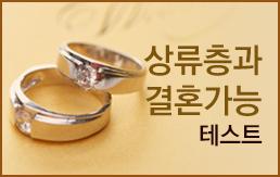 상류층과 결혼가능 테스트